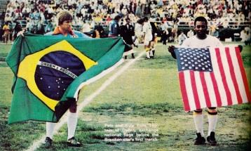 Pele's New York Cosmos debut, 1975