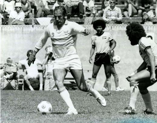 Ron Davies, LA Aztecs 1976