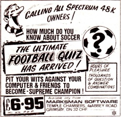 Spectrum Football Quiz 1985