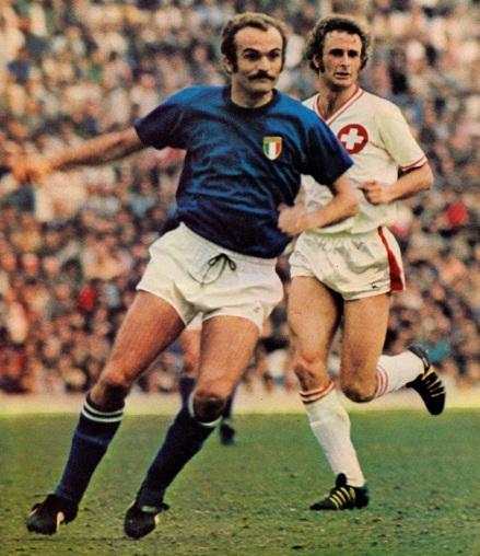 Switzerland v Italy 1975
