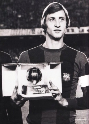 Cruyff, 3rd in 1974 Balon D'Or voting