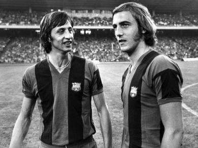Cruyff & Neeskens, Barcelona 1974