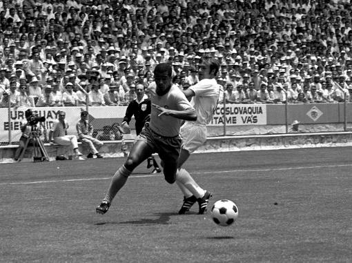 Jairzinho, Brazil v England, World Cup 1970