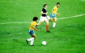 Jairzinho, Brazil v Scotland World Cup 1974