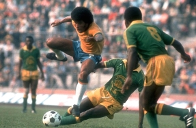 Jairzinho, Brazil v Zaire, World Cup 1974