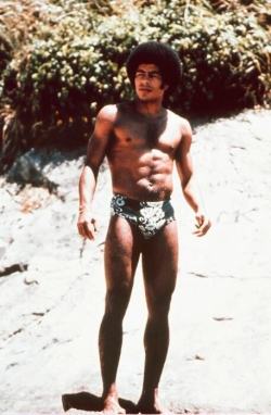 Jairzinho in his swimming trunks