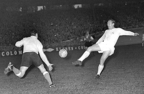 1956 European Cup Final, Alfredo Di Stefano for Real Madrid v Reims