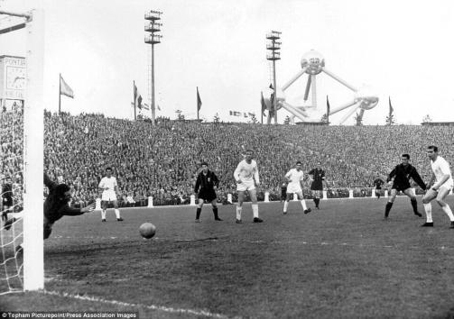 1958 European Cup Final, Real Madrid v Milan