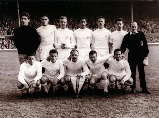 Real Madrid team v Ein Frankfurt, Hampden, European Cup Final 1960