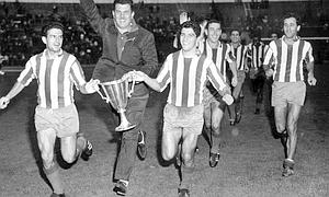 1962 ECWC Final, Rivilla, Villalonga & Collar of Atl Madrid