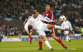 2002 Champions League Final 2002, Zidane goal, Real Madrid v Leverkusen