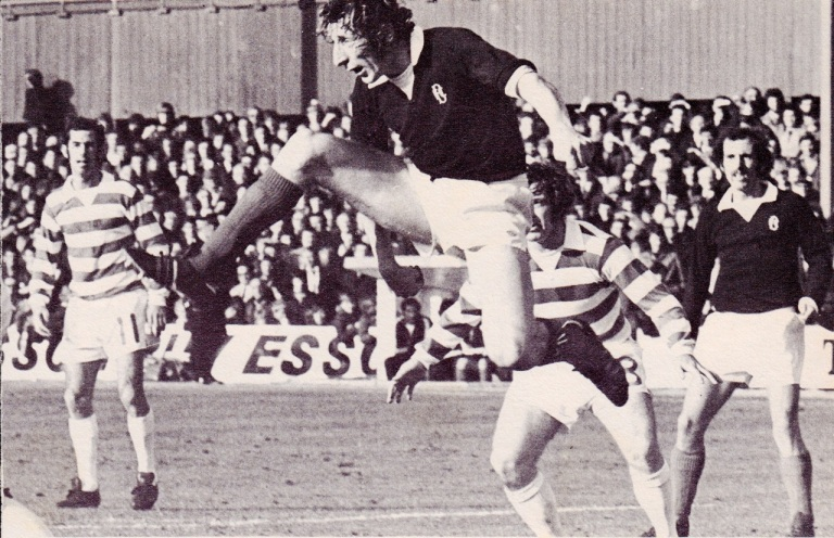 Dundee v Celtic Scottish League Cup Final 1973