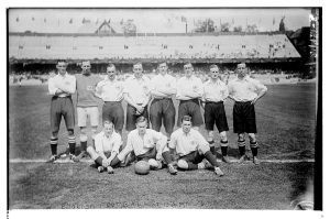 Great Britain 1912 Olympic winning team