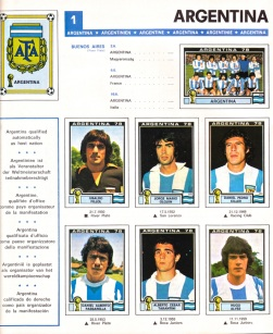 World Cup 1978 Argentina 1