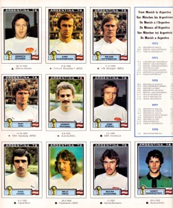 World Cup 1978 Austria 2