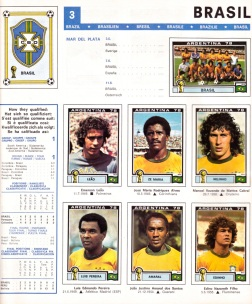 World Cup 1978 Brazil 1