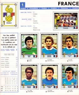 World Cup 1978 France 1