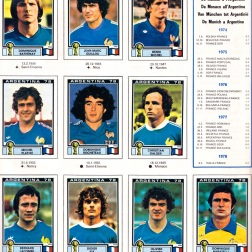 World Cup 1978 France 2