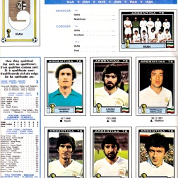 World Cup 1978 Iran 1