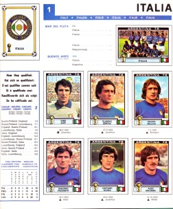 World Cup 1978 Italy 1