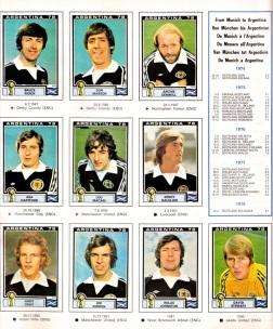 World Cup 1978 Scotland 2
