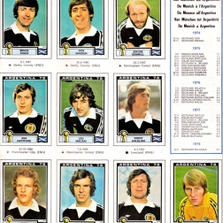World Cup 1978 Scotland 2