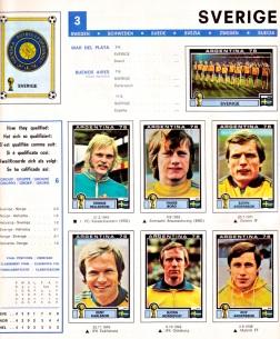 World Cup 1978 Sweden 1