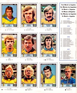World Cup 1978 Sweden 2