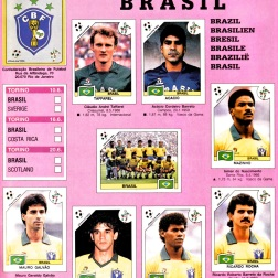 World Cup 1990 Brazil 1