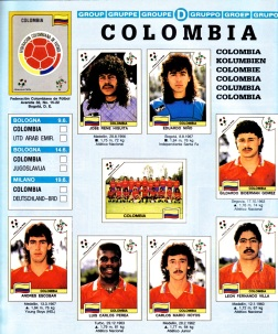 World Cup 1990 Colombia 1
