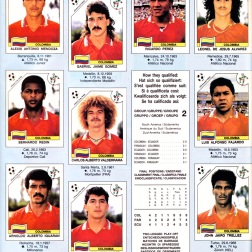 World Cup 1990 Colombia 2