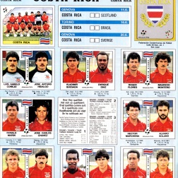 World Cup 1990 Costa Rica