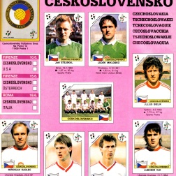 World Cup 1990 Czechoslovakia 1