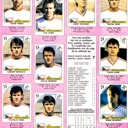 World Cup 1990 Czechoslovakia 2