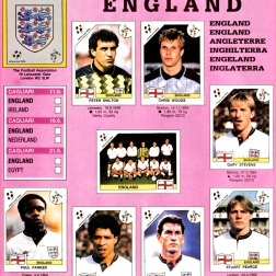 World Cup 1990 England 1