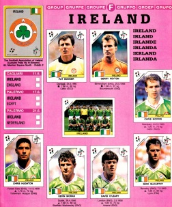 World Cup 1990 Ireland 1