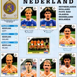World Cup 1990 Netherlands 1