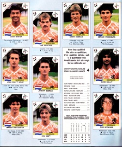 World Cup 1990 Netherlands 2