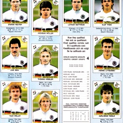 World Cup 1990 West Germany 2