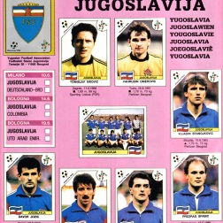 World Cup 1990 Yugoslavia 1