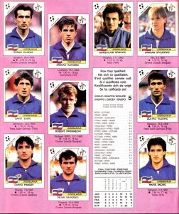 World Cup 1990 Yugoslavia 2