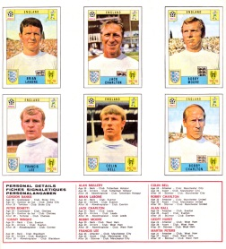 World Cup 70 England 2