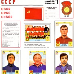 World Cup 70 Soviet Union 1