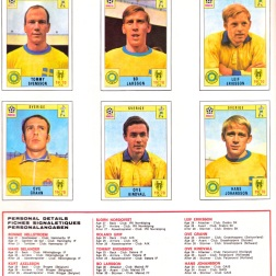 World Cup 70 Sweden 2