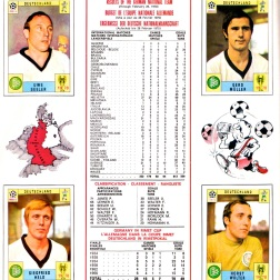 World Cup 70 West Germany 3