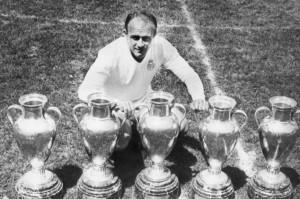 Di Stefano's European Cups