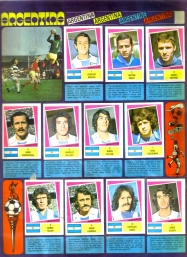 World Cup 1978 FKS Album: Argentina