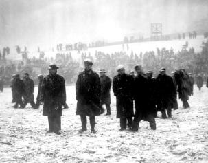 Third Lanark v Celtic postponement 1950 Scot Cup