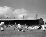 Third Lanark v Hearts 1960