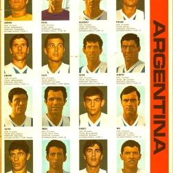 World Cup 1966 FKS Album: Argentina